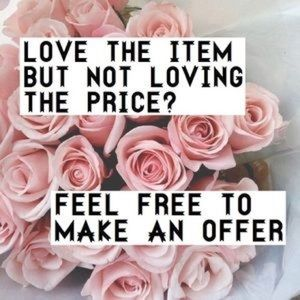 Other - Make me an offer!! 💘